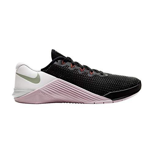 Nike Metcon 5 Women's Training Shoe Black/Noble RED-Pistachio Frost-White Size 10