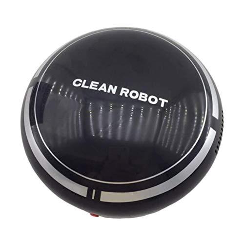 CNmuca Robô limpador de chão coletor de poeira inteligente de auto-indução limpador varredor Robô aspirador de pó ferramentas de limpeza bateria preta