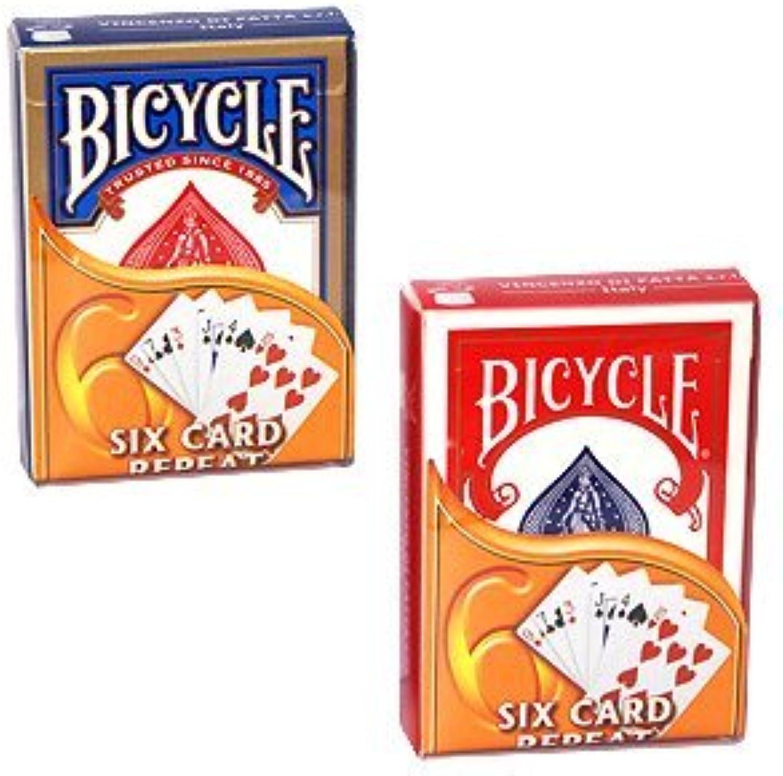 Six Card Repeat  Bicycle by MAK Magic
