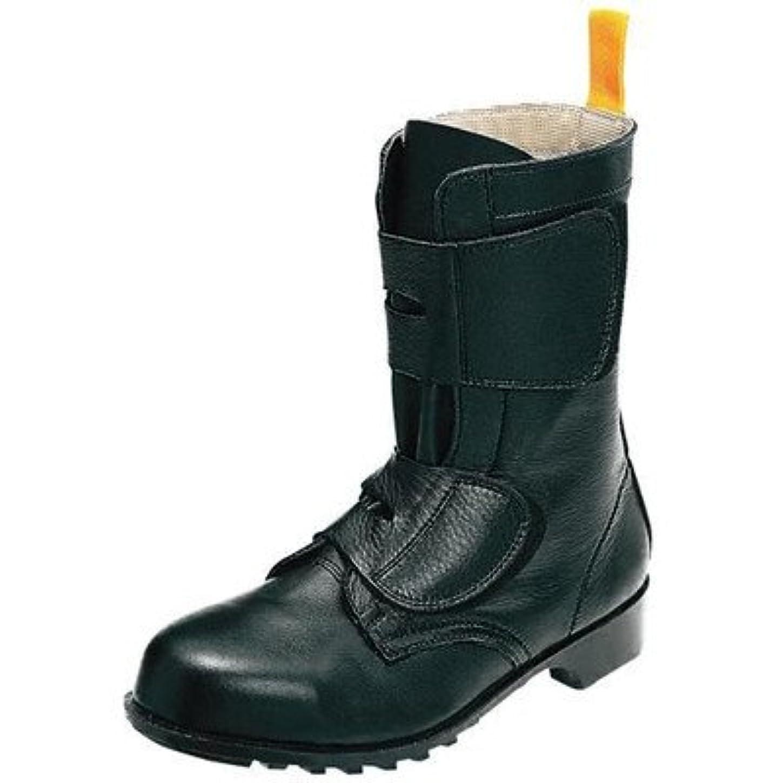 小麦粉サルベージ拡張安全?サイン8 半長靴マジック式 ゴム底スタンダードタイプ ノサックス ソフトマジック8 安全靴 サイズ:25.5cm
