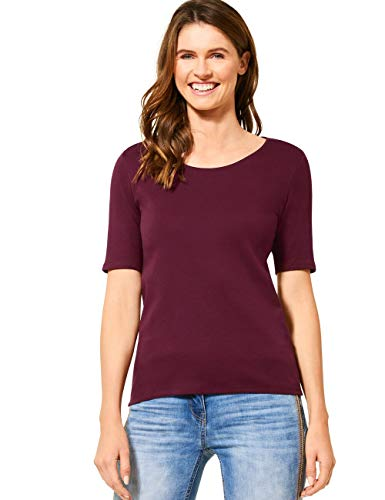 Cecil Damen 311780 Lena T-Shirt, jostaberry red, Medium