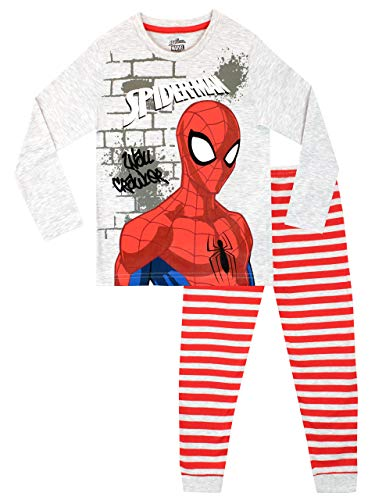 Marvel Jungen Spiderman Schlafanzug Mehrfarbig 152