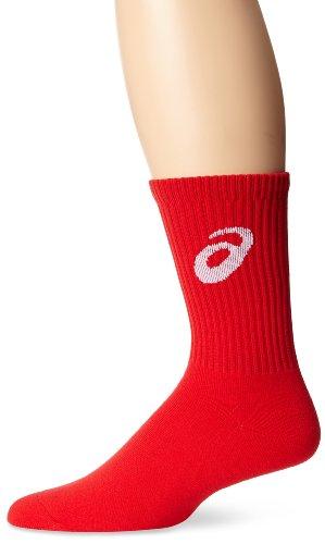 ASICS Team Crew Sock, Red, X-Large