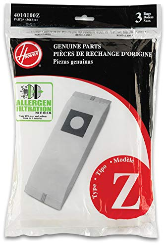 Hoover Type Z Allergen Control Replacement Vacuum Cleaner 3PK Z Allerg Bag