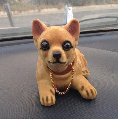 Bobbing Head Dog - Bobble Head Auto Car Dashboard Decors Toy Chihuahuas