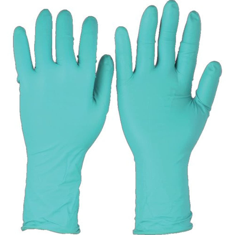 フレアペースト技術者トラスコ中山 アンセル ネオプレンゴム使い捨て手袋 マイクロフレックス 93-260 XSサイズ (50枚入)  932606