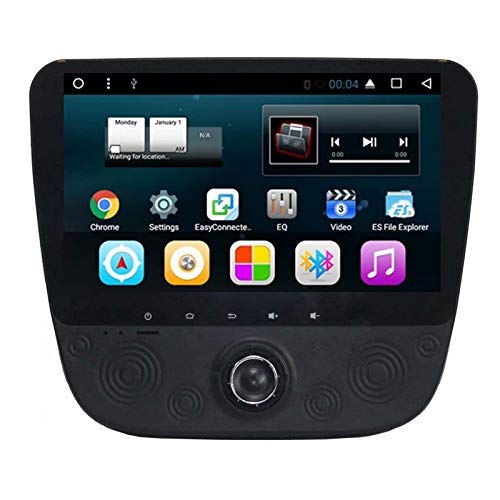 TOPNAVI 2Din 9 Pouces Voiture Navigation pour Chevrolet Malibu XL 2016 2017 2018 Android 7.1 Voiture stéréo Radio Player avec GPS Quad Core WiFi 2 Go de RAM 3G BT Audio Vidéo