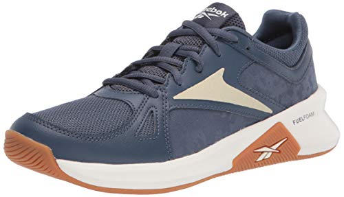 Reebok Women's Advanced Trainette Training Shoes Cross Trainer, Smoky Indigo/Chalk/Flint Grey Metallic, 8