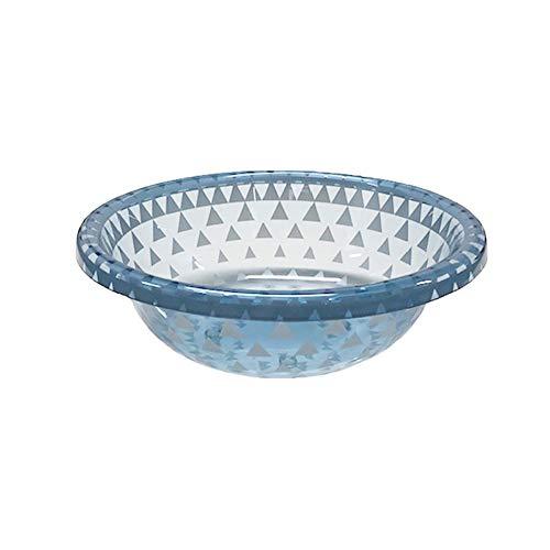 センコー トライアングル ウォッシュボール 洗面器 ブルー 約W28×D26.5×H8.5cm 87693