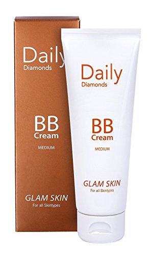 Daily Diamonds GLAM SKIN BB Cream for all Skintypes - 75 ml Tube - BB Cream & getönte Tagescreme...