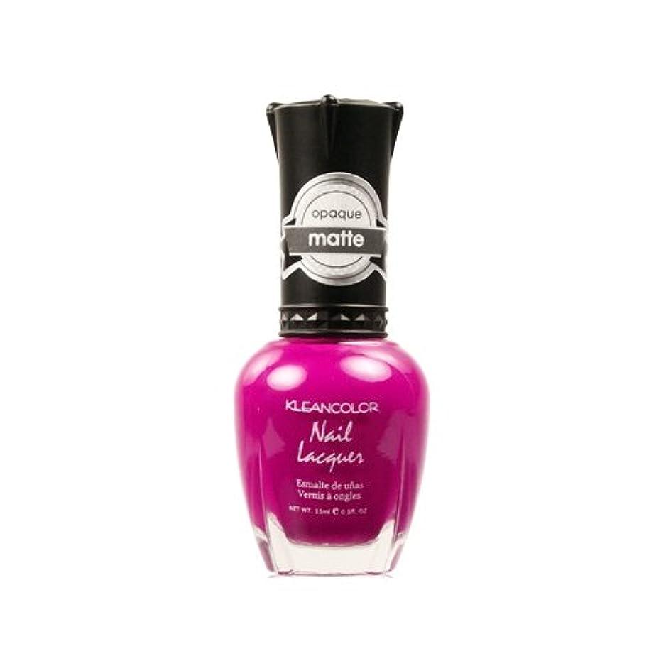 勝者七面鳥できない(3 Pack) KLEANCOLOR Matte Nail Lacquer - Berry Twist (並行輸入品)