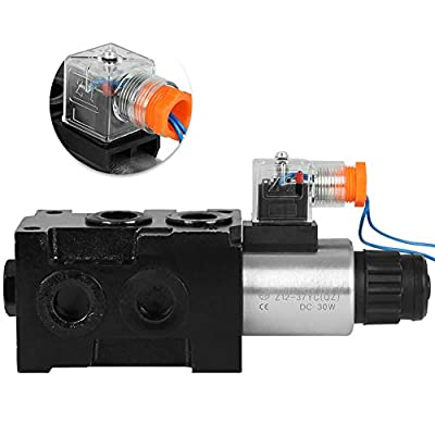 HSV6-C Hydraulic Operated Selector Diverter Solenoid Valve 13 GPM 12V 3625PSI 1 Spool from TaiShi