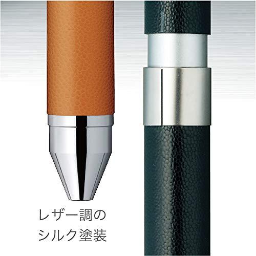 『ゼブラ 多機能ペン シャーボX CL5 レザーブラック SB15-LBK 13.81cm×1.12cm』の6枚目の画像