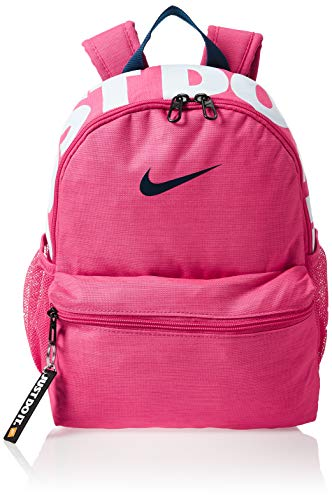 Nike Kids' Y NK BRSLA JDI MINI BKPK Sports Backpack, Watermelon/Watermelon/(Valerian Blue), MISC