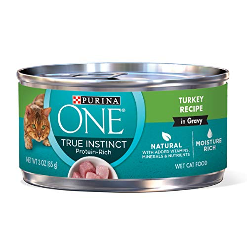 Purina ONE Natural, High Protein Gravy Wet Cat Food