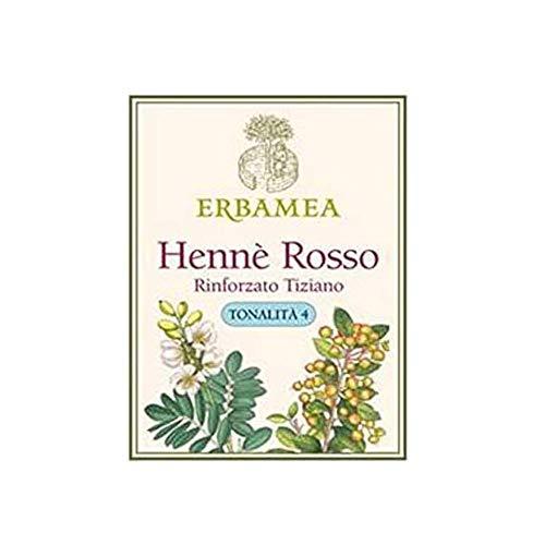 ERBAMEA - HENNE' ROSSO RINFORZATO TIZIANO TONALITA' 4 100 GR