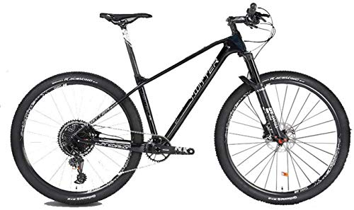 Bicicletta durevole di alta qualità, Sport all'aria aperta fibra di carbonio mountain bike, 27.5 / 29 pollici 12speed velocità variabile GX doppio disco uomini e le donne adulte freno di fondo arrampi