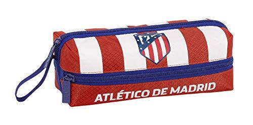 Club Atlético de Madrid Estuche, Niños, Roja, 20 cm