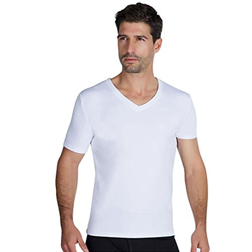 YSABEL MORA - 70100 Camiseta Hombre Manga Corta TERMICA Color: Blanco Talla: M