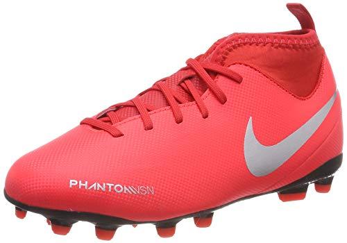 NIKE Jr Phantom Vsn Club DF FG/MG, Zapatillas de Fútbol Unisex Niños