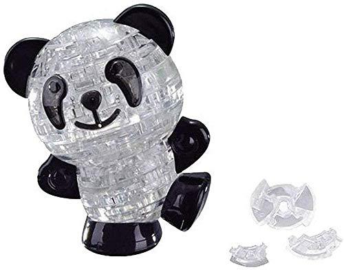 RiverFinn 3D Three-Dimensional Crystal Puzzle Animal Puzzle Fun Toy New 3D Crystal Panda Jigsaw Puzzle 3D Three-Dimensional Crystal Puzzle Animal Puzzle Fun Toy