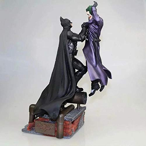 Marvel Batman VS Joker Estatua Figura de acción de Juguete 300mm Diorama Figuras Modelo Juguetes Anime Batman Joker figurita Brinquedos