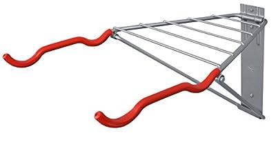 Delta Cycle & Home Folding Bike Wall Mount Rack Storage for Garage Indoor
