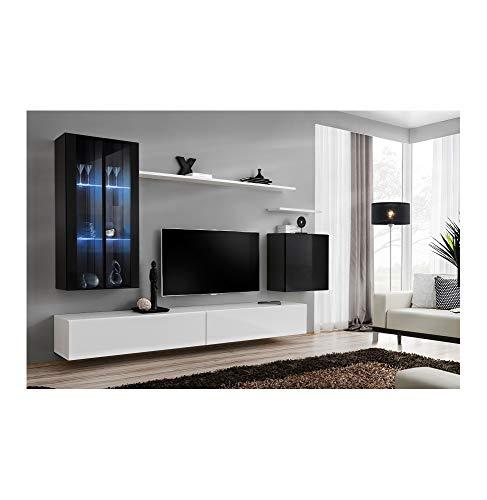 ASM Ensemble TV - 2 éléments - Noir et Blanc