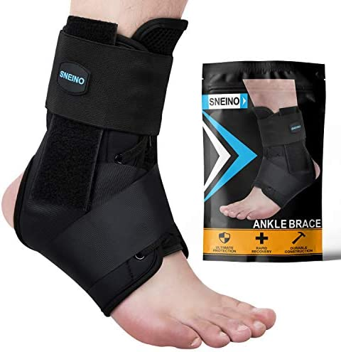 SNEINO Ankle Brace Lace Up Ankle Brace for Women Ankle Brace for Men Ankle Brace Stabilizer product image