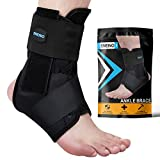 SNEINO Ankle Brace,Lace Up Ankle Brace for Women,Ankle Brace for Men,Ankle Brace Stabilizer,Ankle Brace for Sprained Ankle,Ankle Braces, Volleyball Ankle Braces,Ankle Supports for Women (Medium)