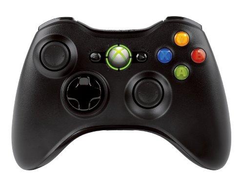 Microsoft Xbox 360 Wireless Controller, F/Windows – Mando para juegos PC negro – accesorios de juegos de video (F/Windows, mando de juegos, PC, Digital, D-pad, sustituye, Inicio, inalámbrico, USB 2.0): Amazon.es: Informática