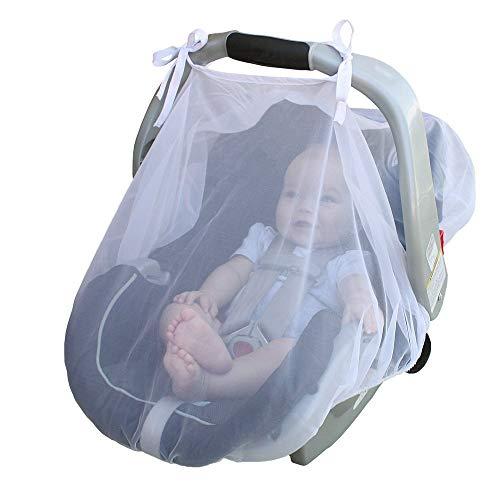 Baby Moskitonetz Universal Belüftete Kinderwagen Netz Kinderwagen Kinderwagen Sitzbezug Schutzzelt für Kinderwagen Buggy Tragetasche