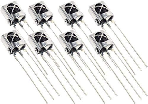 オーディオファン 赤外線センサー IR 受信モジュール リモコン 受光部 など 電子工作 8個セット