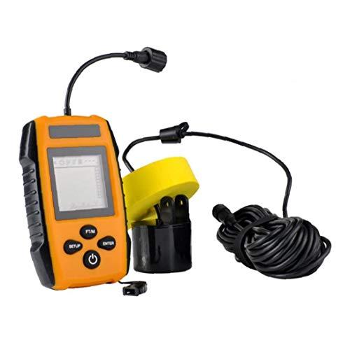 Pesca De Accesorios De Mano Portátil Buscador De Los Pescados De Pesca Sonar Sonda Sensor para La Detección De Orange Fish Depth