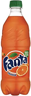 Coca Cola Fanta Orange, 20-Ounce (Pack of 24)