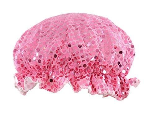 Bling Douche Casquette en Rose avec Fabuleux Sequin Style Design