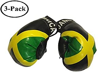 Jamaica Mini Small Polyester Boxing Gloves - 1 Piece