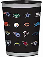 """Amscan""""NFL All-Team"""" Collection Party Favor Cup, 12 Ct"""