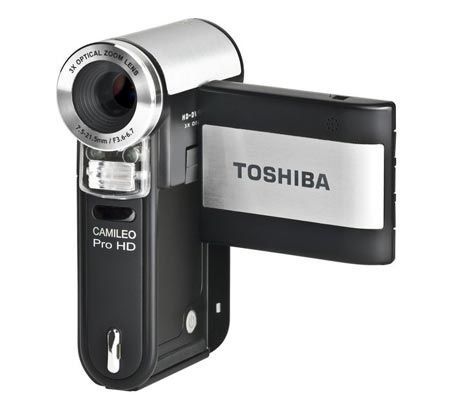 Toshiba Camileo Pro HD digital Camcorder