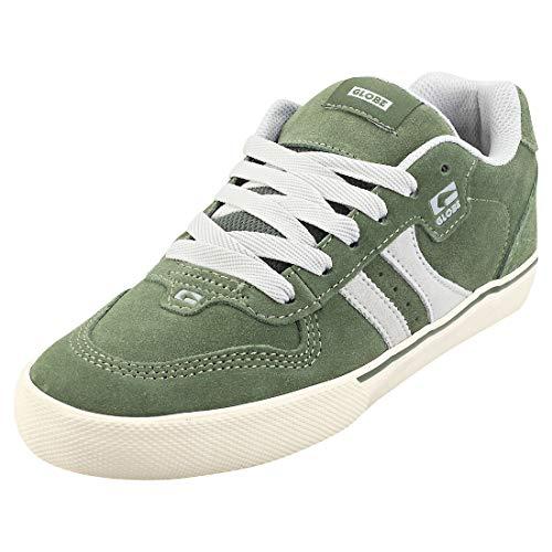 GLOBE Encore-2, Zapatillas de Skateboard para Hombre, Verde (Hunter Green/Grey 29005), 48 EU
