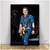 Gopflbh Bruce Springsteen American Rock Sänger Poster und