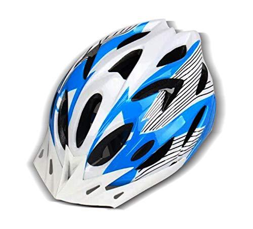 HUAZONG Casco ligero para bicicleta de carretera para adultos, casco de ciclo, para hombre y mujer, ciclismo, seguridad con visera desmontable/forro de repuesto (blanco)