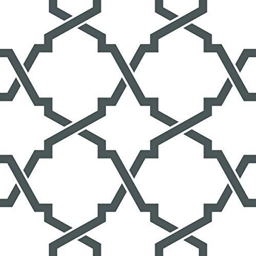 Juego de 24 pegatinas de vinilo para azulejos de baño y cocina, fáciles de aplicar, simplemente despegar y pegar para decoración del hogar (15 x 15 cm)