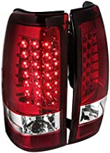 Spec-D Tuning LT-SIV03RLED-TM Chevy Silverado Red LED Tail Lights Lamps