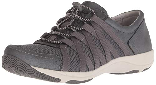 Dansko Women's Honor Charcoal/Metallic Comfort Shoes 11.5-12 M US