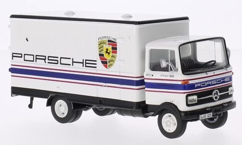 Mercedes LP 608 Koffer-LKW, Porsche-Motorsport, Modellauto, Fertigmodell, Premium ClassiXXs 1 43