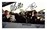 DS Tom Cruise & Anthony Edwards - Top Gun Autogramme