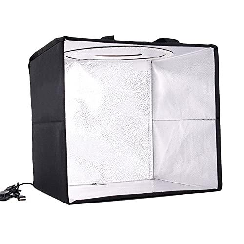 2 Cajas De Luz De Carpa De Luz con Tiras De LED Regulables De Dos Colores El Kit De Caja De Estudio Portátil Se Puede Usar para Fotografía Profesional