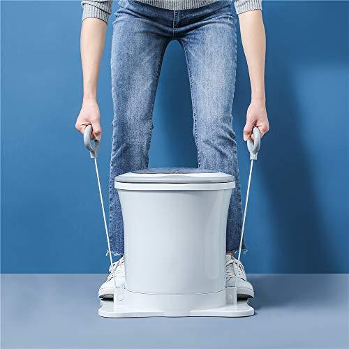 SEAAN- Mini secadora manual portátil de ropa, Secadora giratoria de ropa,secadora centrífuga de alta velocidad, secadora giratoria de drenaje de ropa para apartamentos/hogar/camping (azul)