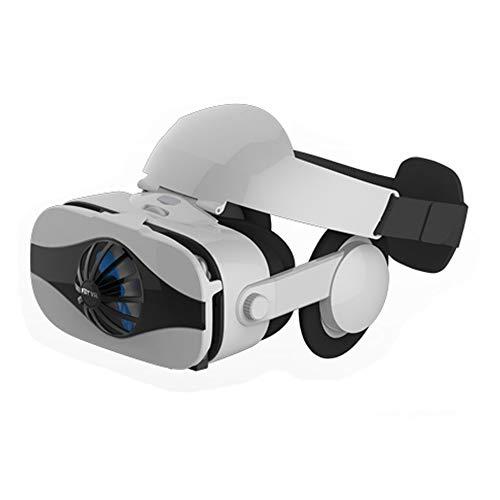 3D-Helm VR Brille, Virtual Reality Headset, VR Panorama 112 ° VR-Headset, justierbare Linse und bequemes Stirnband, benutzt für die 3D-VR Film Videospiele